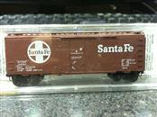 Micro Trains 21110 N-Scale 40' Standard Box Car, Plug Door, Sante Fe